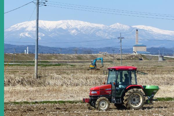 稲刈と同時に土作り開始です